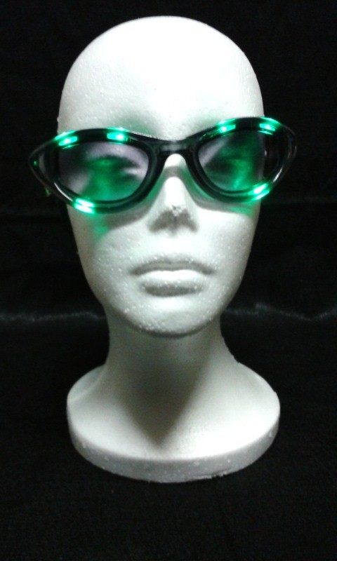 Green Sound Activated Sunglasses